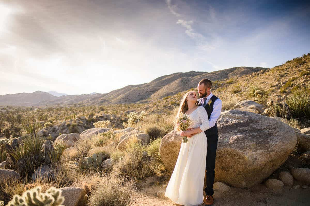 Alan & Heidi Joshua Tree Elopement
