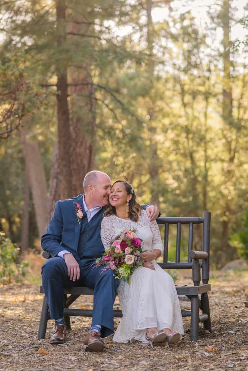 Alan & Heidi Idylwild Nature Center Elopement