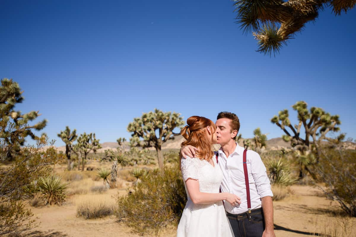 Alan & Heidi Joshua Tree Destination Elopement