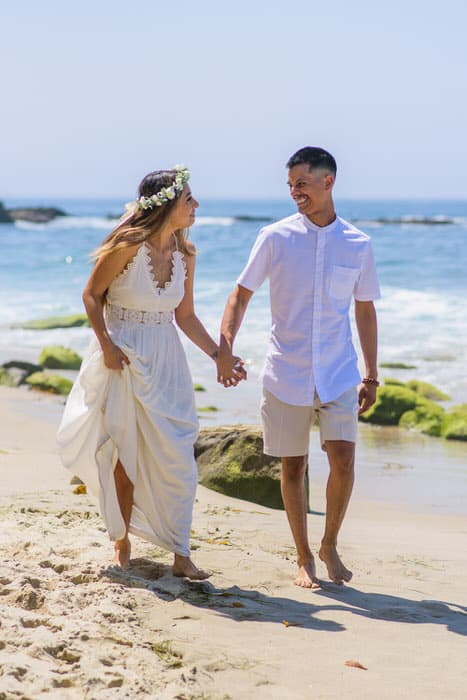 Alan & Heidi Laguna Beach Elopement