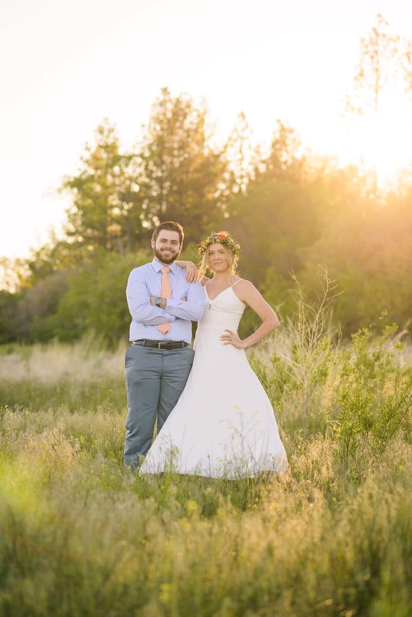 Alan & Heidi Big Bear Lake Elopement Summer